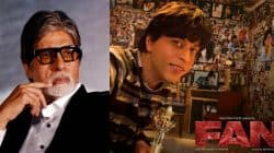 Shah Rukh Khan's film FAN comes to life for Amitabh Bachchan