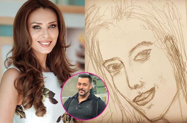 Aww! Did Salman Khan just sketch his girlfriend Iulia Vantur? View pic!