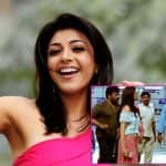 Kajal Aggarwal spotted on the sets of Chiranjeevi's Khaidi no 150!