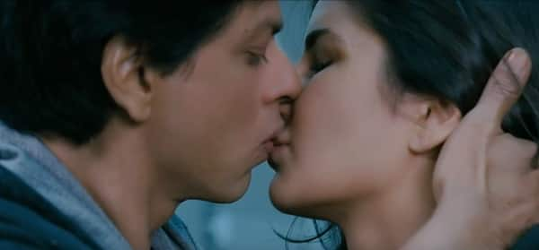 katrina and shahrukh's kiss-1