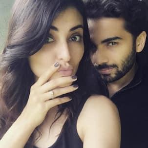 Here's how Madana Karimi and fiance Gaurav Gupta celebrated their engagement!
