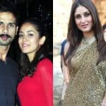 Did Kareena Kapoor congratulate Shahid Kapoor on the good news?