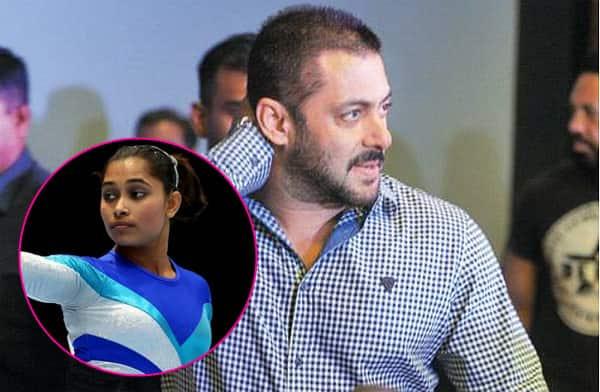 Rio Olympics ambassador Salman Khan forgets athlete Dipa Karmakar's name, addresses her as Deepika – watch video!