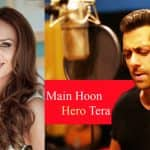 Iulia Vantur to sing a cover of Salman Khan's song Main Hoon Hero Tera and we super stoked about it!