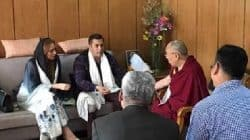 Salman Khan was accompanied by Iulia Vantur during his meet with Dalai Lama