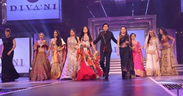 shah-rukh-khan-escorts-nine-leading-heroines-ramp-varinder-chawla
