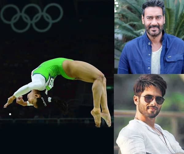 Shahid Kapoor, Ajay Devgn cheer for Dipa Karmakar after she qualifies for Olympics final