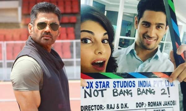 Sidharth Malhotra gets a mentor for Bang Bang 2 – Suniel Shetty!