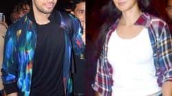 Sidharth Malhotra ditches GF Alia Bhatt and lands with onscreen ladylove Katrina Kaif – View HQ Pics!