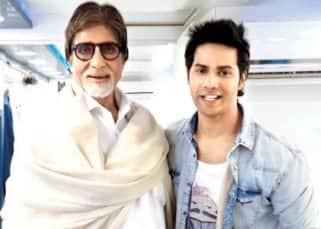 Bole toh! Amitabh Bachchan and Varun Dhawan coming together for a 'Munnabhai' style film?
