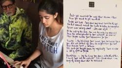 Amitabh Bachchan reveals granddaughter Navya Naveli Nanda's reaction to his letter