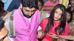 Abhishek Bachchan protecting wife Aishwarya from the crowd will make you wish for a husband like him – watch video!
