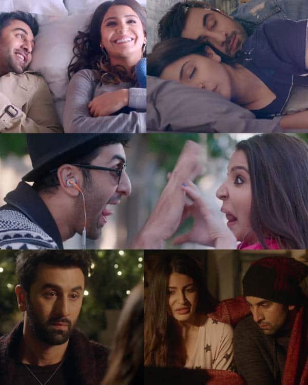 20 stills from Ae Dil Hai Mushkil trailer that PROVE Ranbir Kapoor and Anushka Sharma are lovers in the film!
