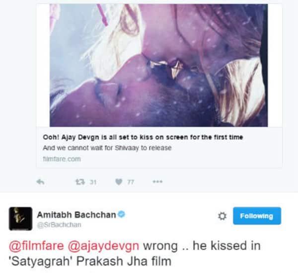 Ajay-kiss-tweet