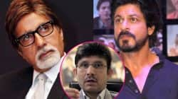 Kamaal R Khan now USES Shah Rukh Khan and Amitabh Bachchan's name in the Ajay Devgn-Karan Johar row!