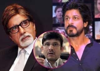 Kamaal R Khan now USES Shah Rukh Khan and Amitabh Bachchan's name in the Ajay Devgn-Karan Johar row!