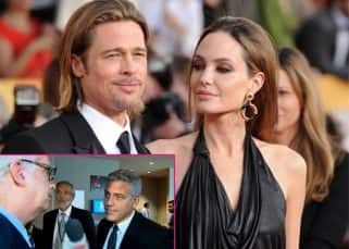 Awkward, surprised and sorry - George Clooney's reaction on Angelina Jolie and Brad Pitt's divorce!