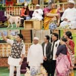 Anna Hazare promotes his biopic on The Kapil Sharma Show - view HQ pics!