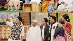 Anna Hazare promotes his biopic on The Kapil Sharma Show – view HQ pics!