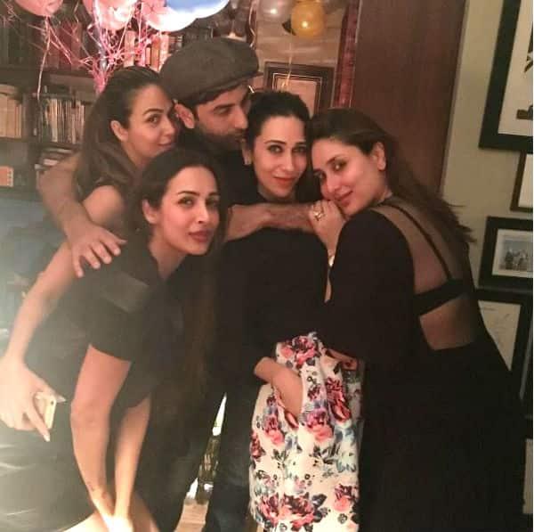 Fam Jam! Ranbir Kapoor raises a toast to Kareena at her rocking birthday bash – view INSIDE pics!