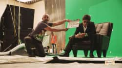 Shah Rukh Khan shoots for Don: The Chase Ride! watch video