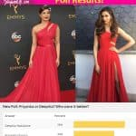 Aha! Deepika Padukone BEAT Priyanka Chopra to be the ultimate LADY IN RED!