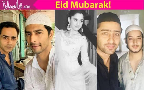 Kuch Rang Pyar Ke Aise Bhi's Shaheer Sheikh, Sanjeeda Sheikh, Sehban Azim wish fans Eid Mubarak!