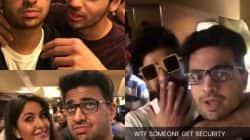 Rohan Joshi's Snapchat SUMS UP on what Katrina Kaif, Sidharth Malhotra and Ranveer Singh did at Baar Baar Dekho screening!