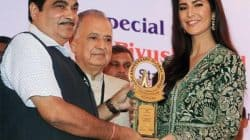 Katrina Kaif receives The Smita Patil Award looking ravishing in a green desi outfit – view pic!