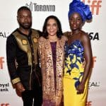 Oscar winning actress Lupita Nyong'o looked incredible at TIFF premiere of Queen of Katwe in a royal blue number!