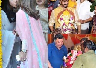 Vivek Oberoi, Rishi Kapoor, Ekta Kapoor bid an adieu to Ganesha - view HQ pics!