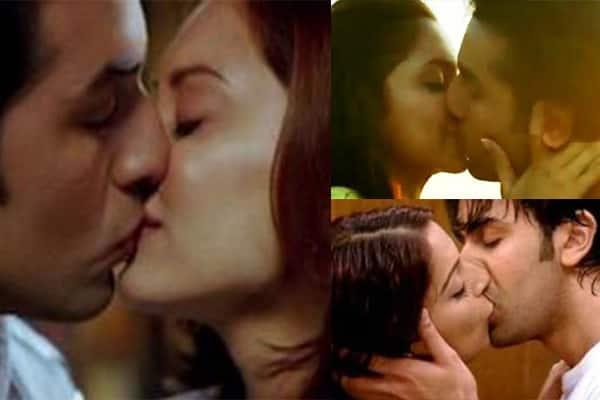 Sonam kapoor lip kiss
