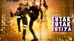 Tutak Tutak Tutiya poster: Prabhu Dheva makes a swaggy comeback with Tamannaah and Sonu Sood!