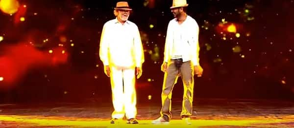 Prabhudheva dancing with his father on a reality show deserves a standing ovation – watch video!