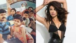 Priyanka Chopra shares her childhood pic with her family and she looks SUPER CUTE in it!