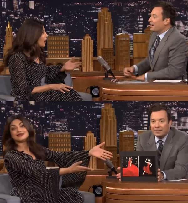 Priyanka Chopra returns to The Tonight Show Starring Jimmy Fallon looking beautiful as ever!