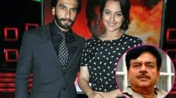 Sonakshi Sinha says Ranveer Singh would be perfect for Shatrughan Sinha's biopic