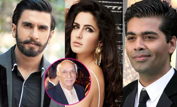 Katrina Kaif, Ranveer Singh, Karan Johar remember ace director Yash Chopra on his 84th birth anniversary