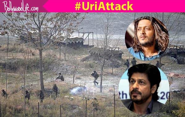 Shah Rukh Khan, Riteish Deshmukh, Suriya Sivakumar strongly  condemn the terrorist attack on Uri!