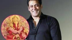 Ganpati idol arrives at Khan residence, while Salman Khan gives the festival a miss – view pic!