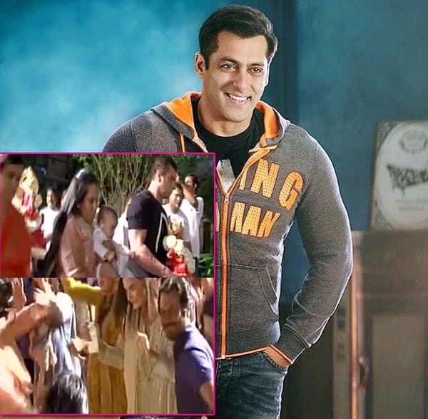 In pics: Ganpati visarjan at Salman Khan's home with Sohail Khan and Amy Jackson!