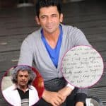 Sunil Grover gets a hand written letter from a fan and it's every bit touching!