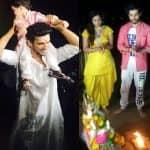 Arjun Bijlani, Ssharad Malhotra, Karan Wahi bid farewell to Bappa - view pics!