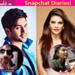 Jacqueline Fernandez and Varun Dhawan are fighting over Snapchat and Instagram and we don't know whom to side with!