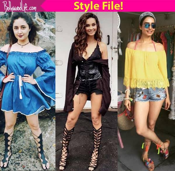 Mouni Roy, Karishma Tanna, Rashami Desai – TV beauties flaunting gladiators!