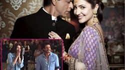What are Shah Rukh Khan and Anushka Sharma doing at the Amsterdam airport?