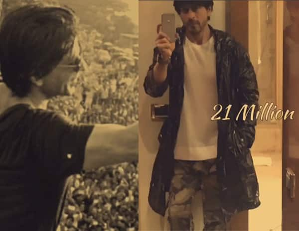 Shah Rukh Khan's special tribute to 21 million followers will make you love him even more!