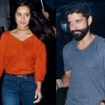 Farhan Akhtar and Shraddha Kapoor AVOID getting clicked together? view HQ pics!