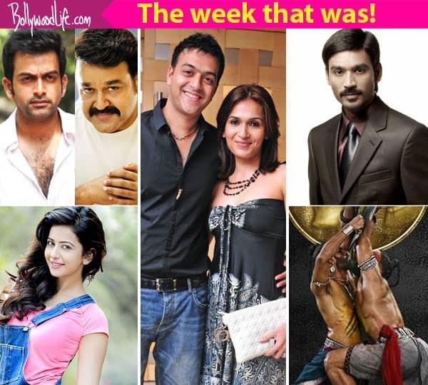 Prithviraj's directorial debut, Soundarya Rajinikanth's divorce – meet the top 5 newsmakers of this week!
