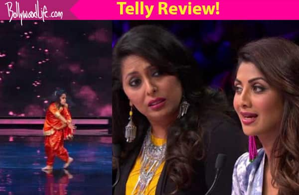 Super Dancer TV Review: Quality contestants are the USP of the show!